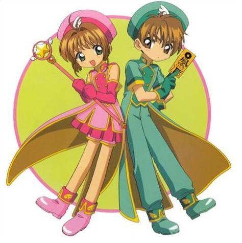 OKMYSISTER IS SOOO INTO CARD CAPTOR SAKURASO I THOUGHT I WOULD